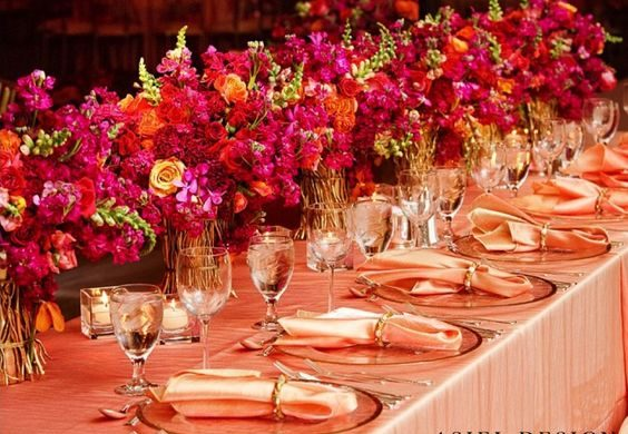 All Pink Decor Elements for a Fairytale Wedding Venue, 2 42
