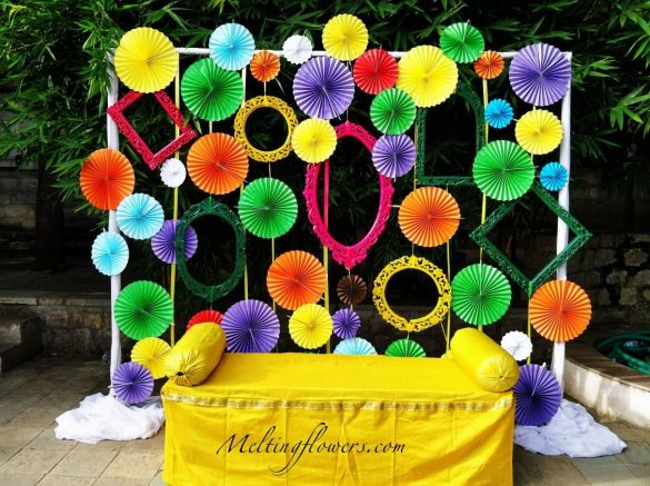 Quirky Mehendi Theme Ideas For a Refreshing Experience to Your Guestss, 2.