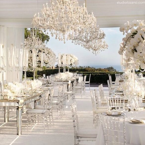 Elegant Ways to Choose White Color Theme for Your Wedding Venue, 3 18