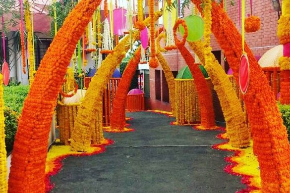 Trending Walkway Decor Ideas that could be the Oomph Factor of Your Wedding, 3 7