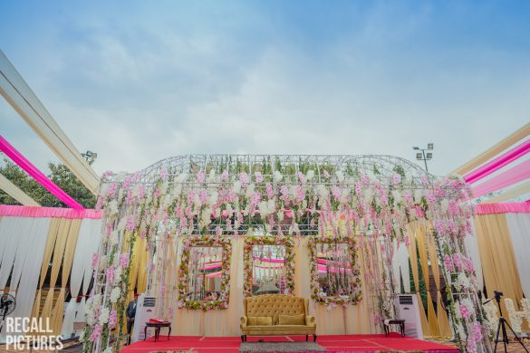 All Pink Decor Elements for a Fairytale Wedding Venue, 4 23