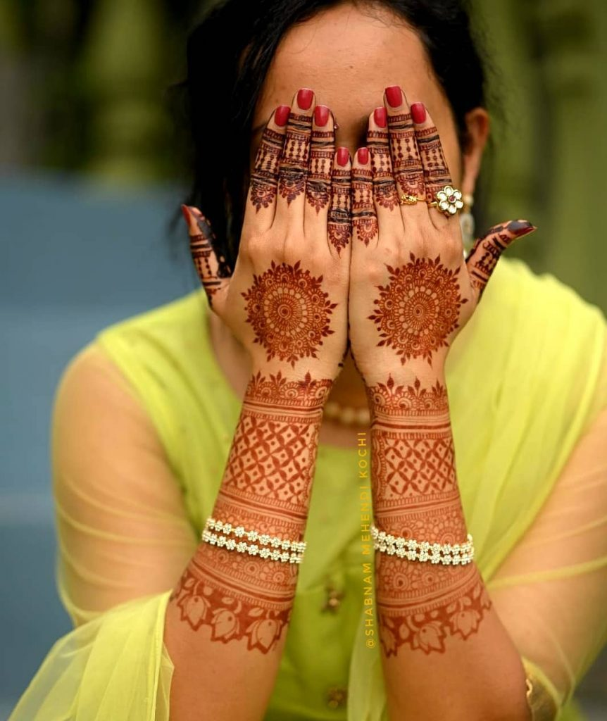 20+ Mandala Mehendi Designs for Brides, 93350323 243087120075812 592676785584725252 n