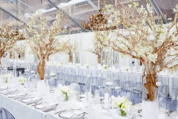 Elegant Ways to Choose White Color Theme for Your Wedding Venue, c1 1