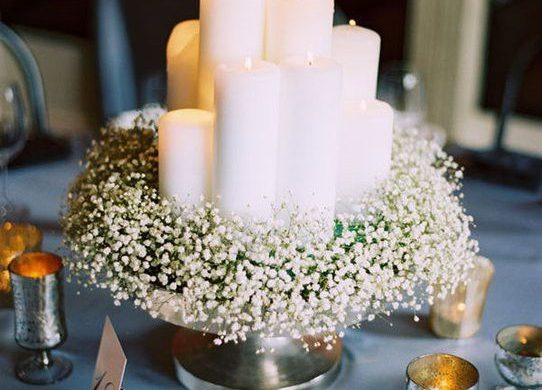 Elegant Ways to Choose White Color Theme for Your Wedding Venue, c1