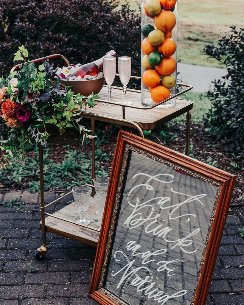 20 Unique and Quirky Wedding Bar Decor Ideas for Ritzy Cocktail Party, m 12