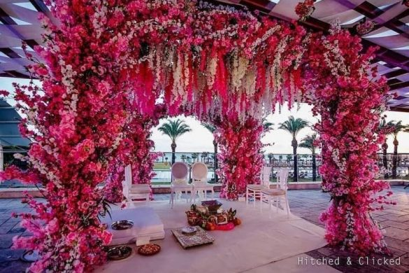 All Pink Decor Elements for a Fairytale Wedding Venue, m 2