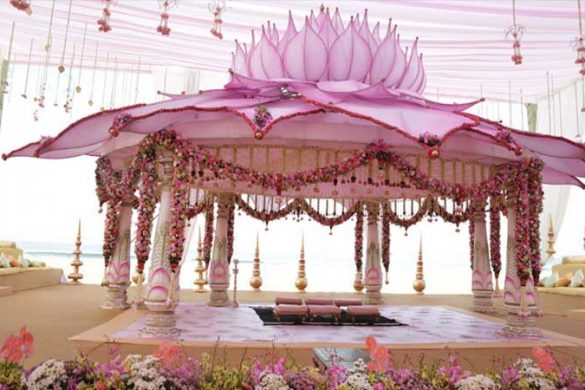 All Pink Decor Elements for a Fairytale Wedding Venue, m 4