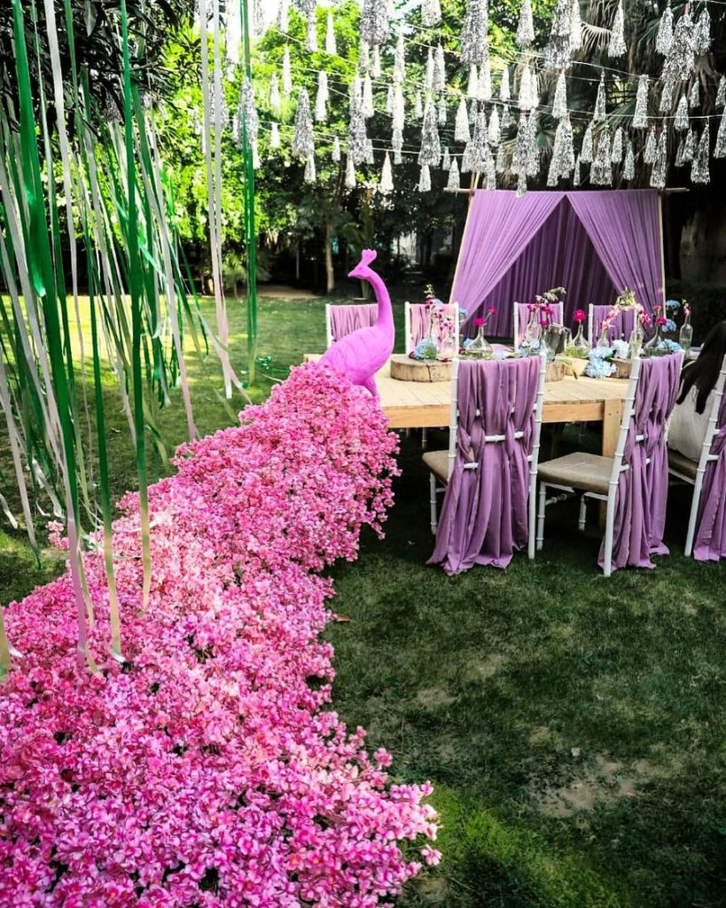Beautify your Wedding with Fancy and Floral Peacock Decor, m 58