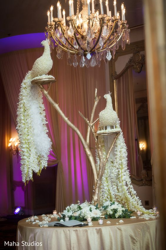 Beautify your Wedding with Fancy and Floral Peacock Decor, m 70