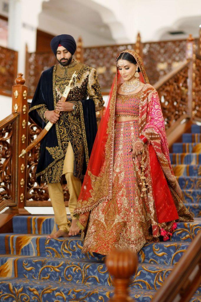 #LockdownWedding : Aman & Gurdeep's  Lockdown Wedding Is Giving Us Legit Wedding Goals, b3