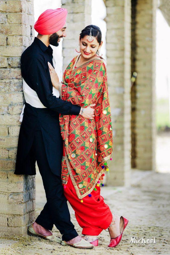 punjabi style pre wedding