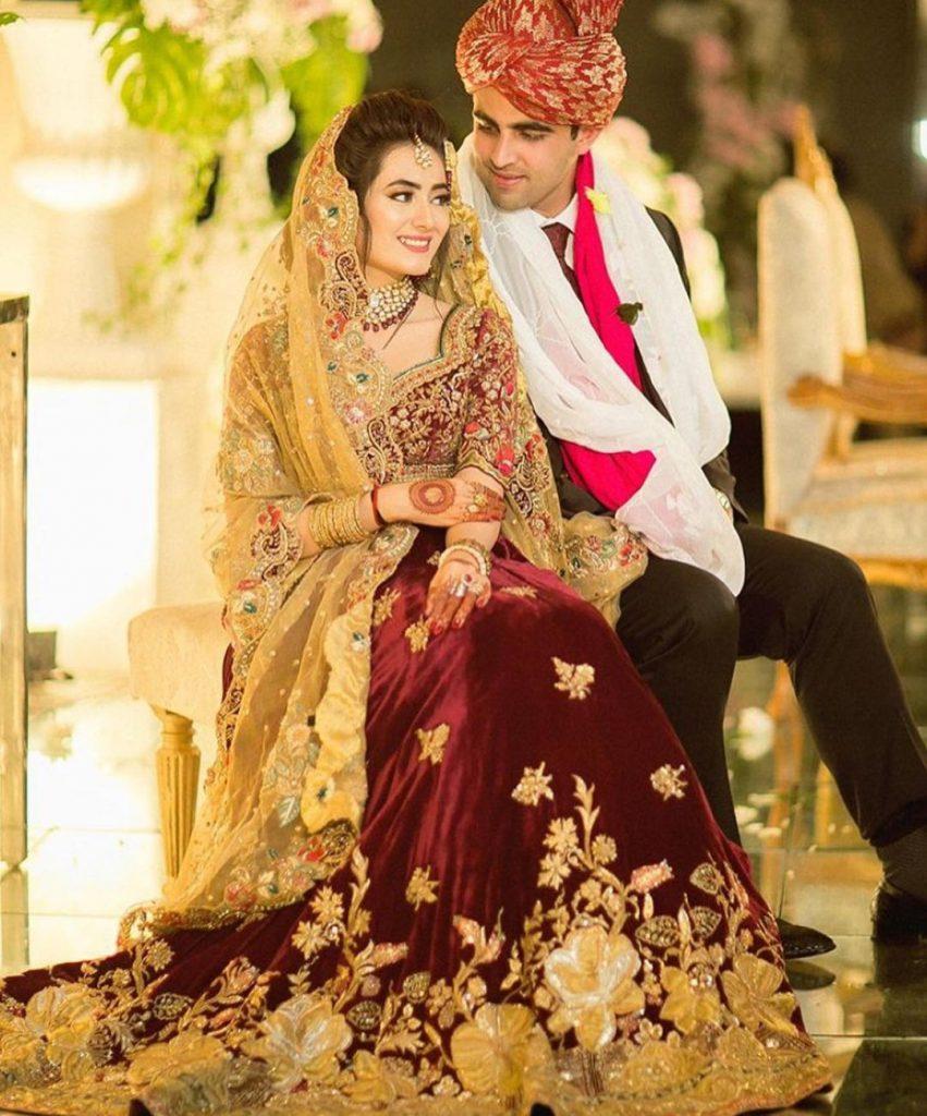 Swoon-Worthy Red-Golden Pakistani Bridal Gowns That Are A Perfect 10/10, tenadurrani tenadurrani 16049290922299