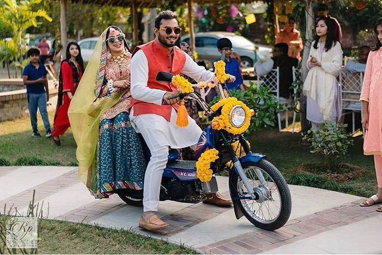 Top 11  Trending Quirky Bridal Entry Ideas For A Shandaar Entry, shaadiwish 1606828941038
