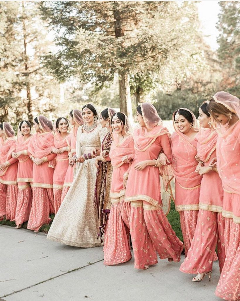 bridesmaid photoshoot