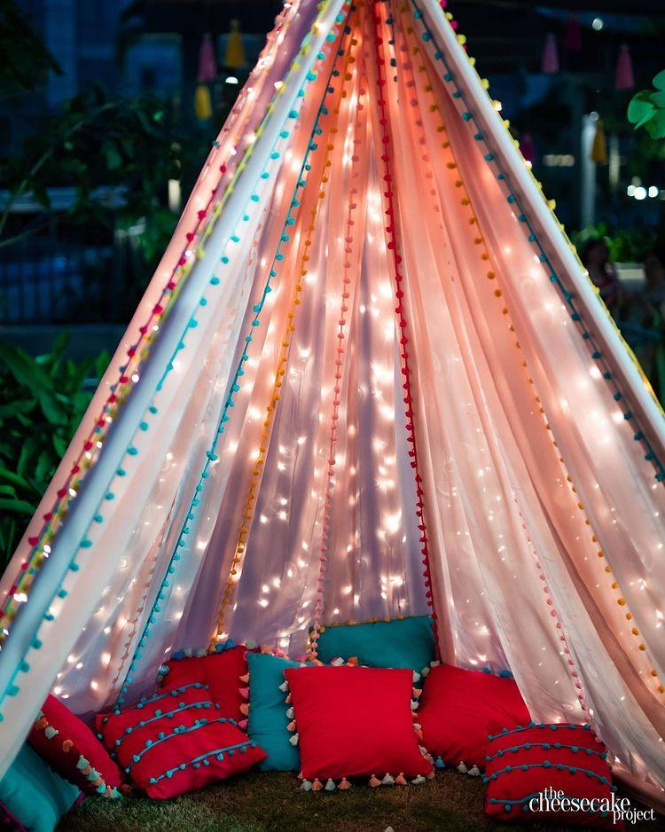 Trendy Outdoor Mehendi Seating Ideas for Brides, instagramphotodownload.com Obelus Events