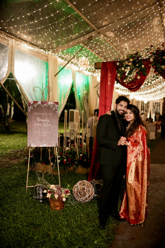 Check Out Greshma And Ajin's Wedding Where The Bride Flaunted Three Gorgeous Outfits!, 064A0566