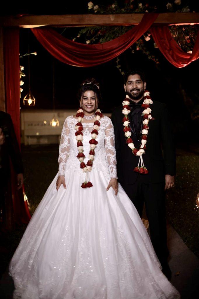 Check Out Greshma And Ajin's Wedding Where The Bride Flaunted Three Gorgeous Outfits!, 76d299ba b16e 4e2a 8824 667ca72005d7