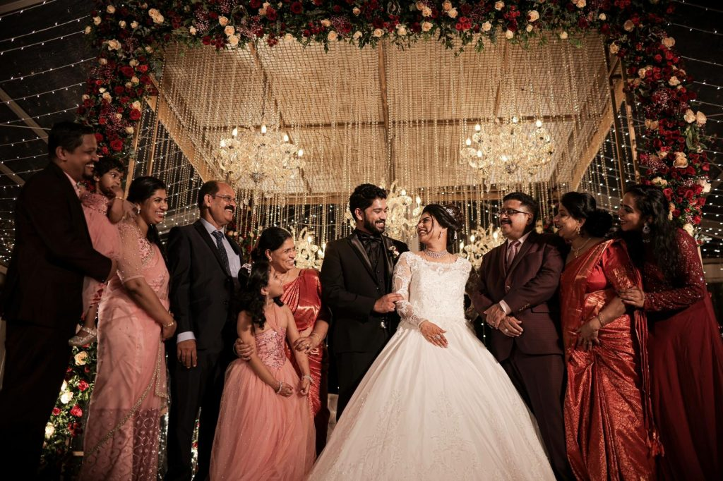 Check Out Greshma And Ajin's Wedding Where The Bride Flaunted Three Gorgeous Outfits!, 9e292809 96bb 4d3a 9b65 10fadb3d31d3