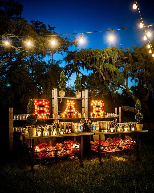 Impressive Wedding Bar Themes and Setup Ideas, The 24 Best Country Wedding Ideas