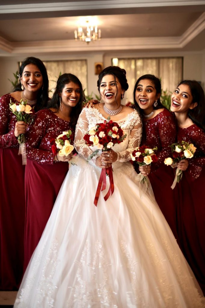 Check Out Greshma And Ajin's Wedding Where The Bride Flaunted Three Gorgeous Outfits!, d5aa3845 d7a0 4f39 abe4 2befa4f913d8