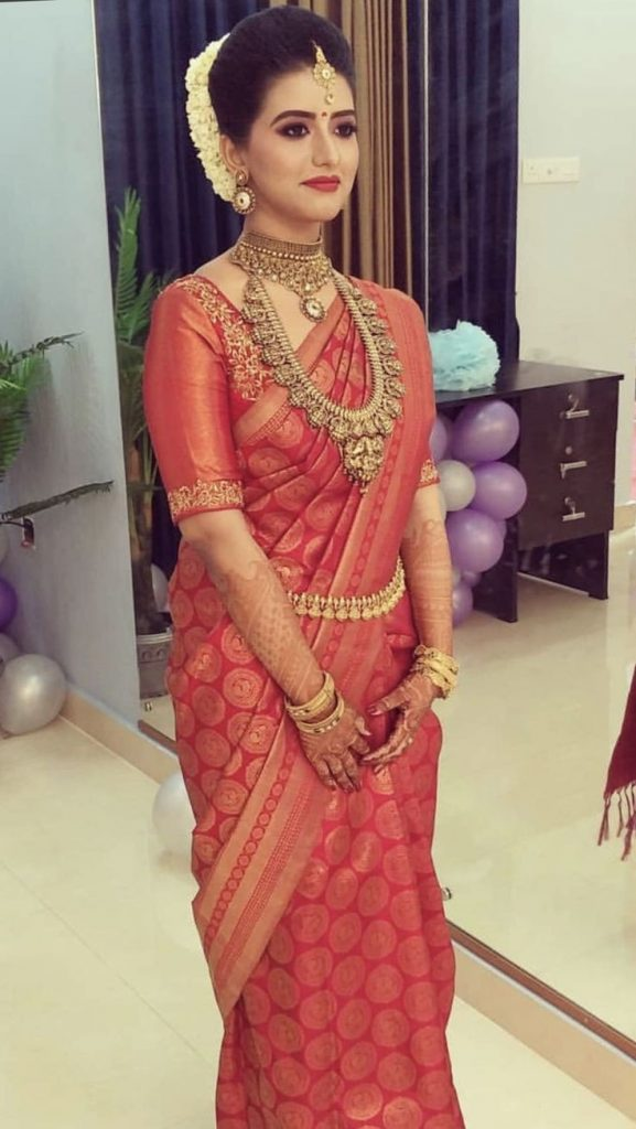21 South Indian Brides Who Had Us Crushing Over Their South Indian Style, f058f83277d38bac46f90af5891304c7