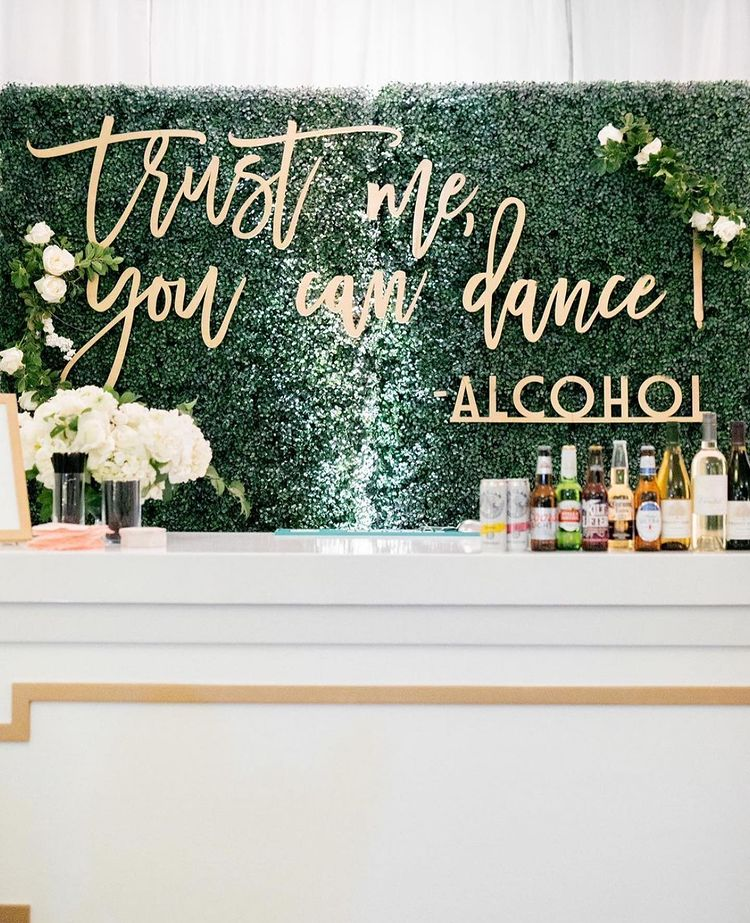 Impressive Wedding Bar Themes and Setup Ideas, instagramphotodownload.com Bridal Guide Magazine