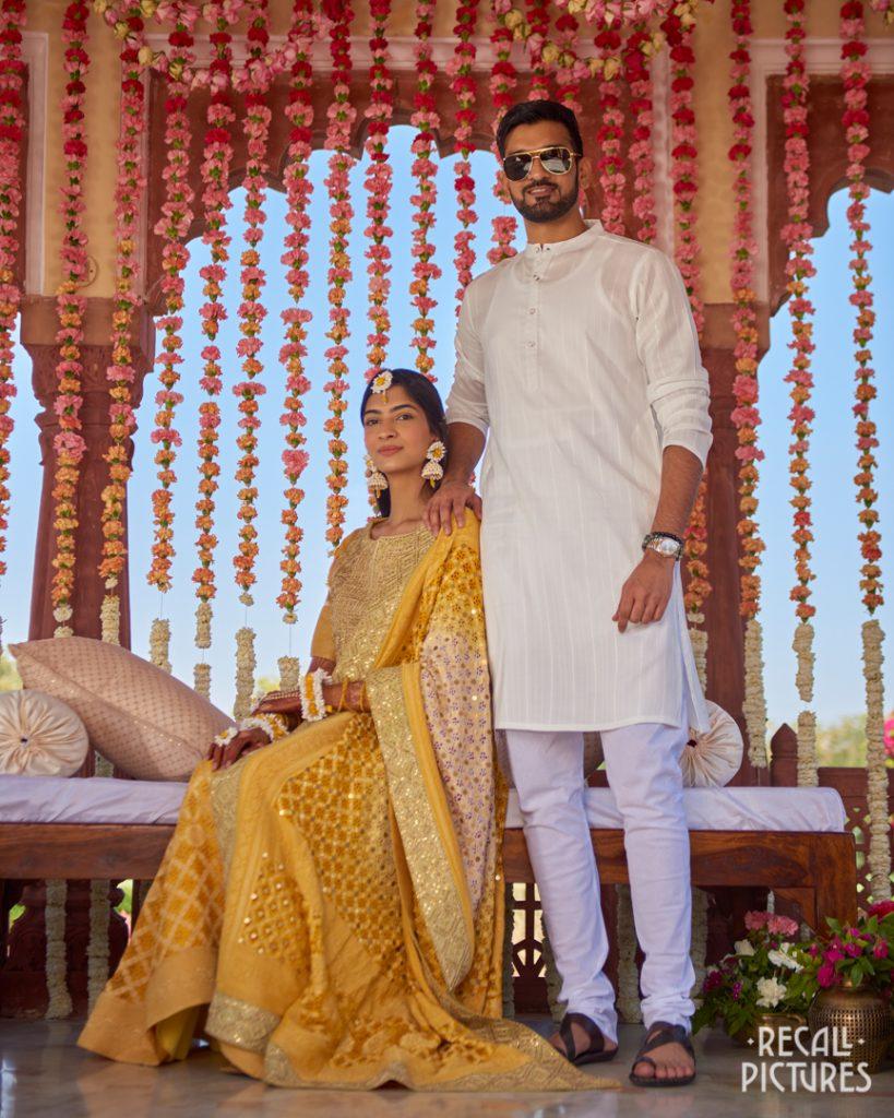 Glorious Palace Wedding of Hanna S Khan and Shahrukh Merchant is Straight Out of a Fairytale, Haldi 13