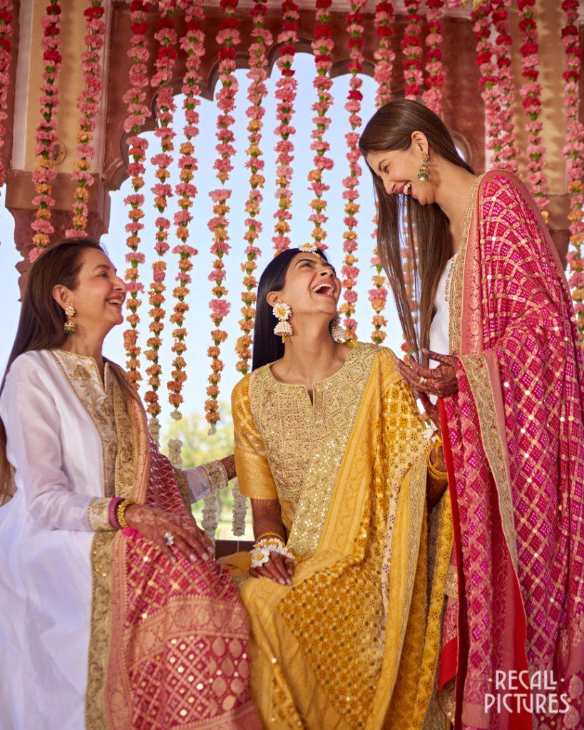 Glorious Palace Wedding of Hanna S Khan and Shahrukh Merchant is Straight Out of a Fairytale, Haldi 16 1