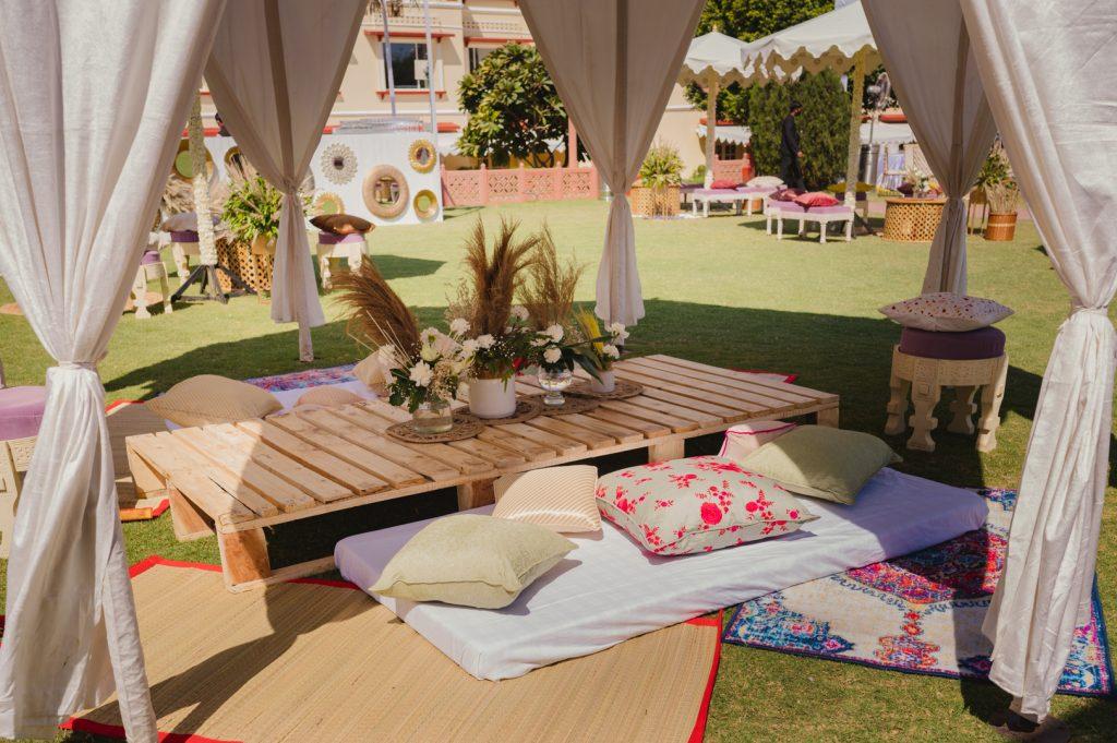 Glorious Palace Wedding of Hanna S Khan and Shahrukh Merchant is Straight Out of a Fairytale, Hanna Mehndi Decor 3 of 16